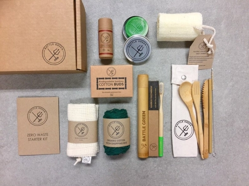 Battle Green Box Zero Waste Kit