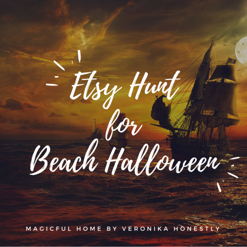 Etsy Hunt for beach halloween