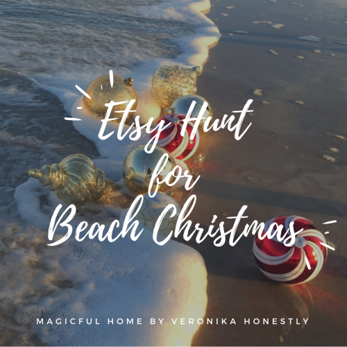Etsy Hunt for beach Christmas
