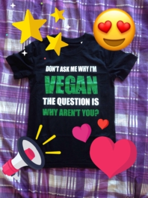 vegan organic cotton t-shirt veronika honestly